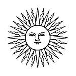 Coloriage Etoiles Soleil Lune