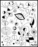 Coloriage Joan Miro