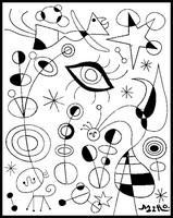 Coloriage Joan Miro