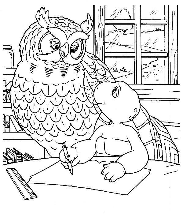 Coloriage Ecole Animaux.Index Of Coloriages 476 G