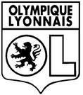 Coloriage Ecusson OL Olympique Lyonnais