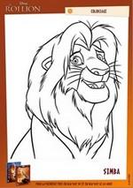 Coloriage Coloriage Simba
