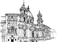 Coloriage Italie - Rome