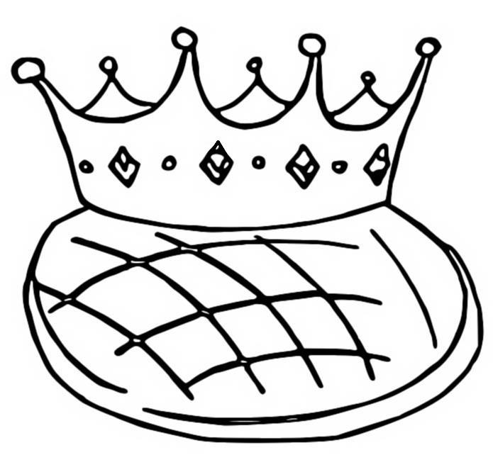 Coloriage Fete Des Rois Couronne Et Galette Des Rois 13