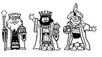 Coloriage Fete des rois