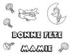 Coloriage Bonne Fête Mamie