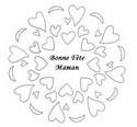 Coloriage Mandala F�te des M�res