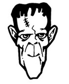 Coloriage Frankenstein