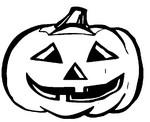 Coloriage Citrouille d'Halloween