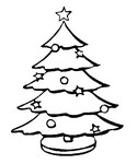 Coloriage Sapin de No�l