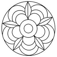 Coloriage Mandalas