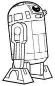 Coloriage R2-D2