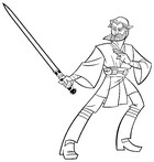 Coloriage Obi Wan Kenobi