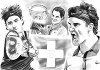 Coloriage Federer
