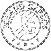Coloriage Logo Rolang Garros