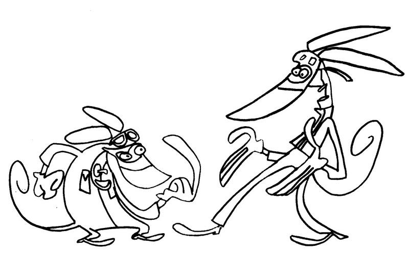 Coloriage dessins animes gulli ratz 1 - Coloriage gulli ...