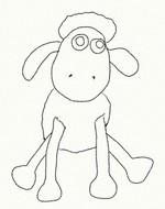 Coloriage Shaun le plus malicieux des moutons