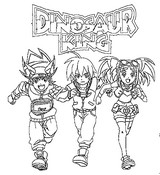 Coloriage Dinosaur King
