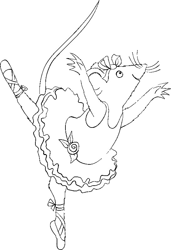 Coloriage dessins animes france 5 les zouzous angelina ballerina 1 - Dessin anime zouzous france 5 ...