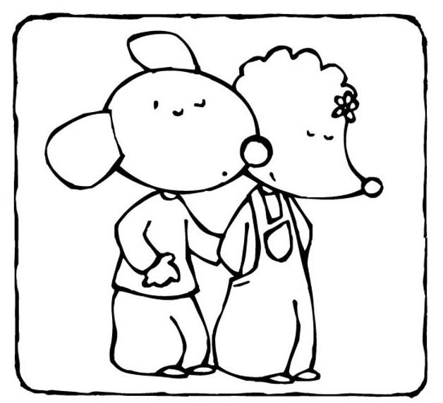Coloriage dessins animes france 5 les zouzous bali 1 - Dessin anime zouzous france 5 ...