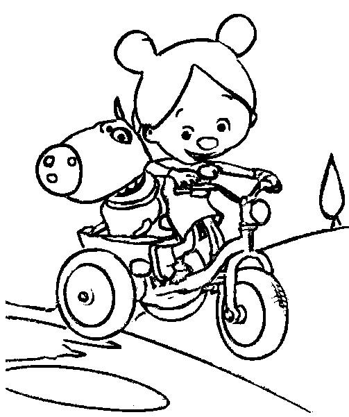 Coloriage dessins animes france 5 les zouzous grabouillon 1 - Dessin anime zouzous france 5 ...