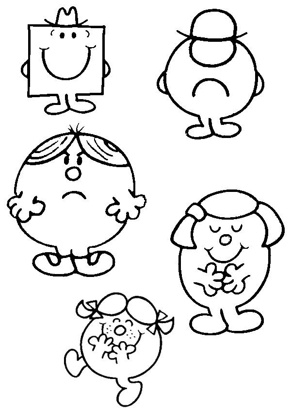 Coloriage dessins animes france 5 les zouzous monsieur madame 1 - Dessin anime zouzous france 5 ...