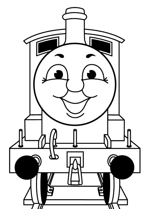 Coloriage dessins animes france 5 les zouzous thomas le - Thomas le petit train coloriage ...