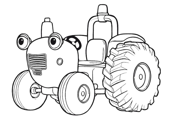 tractor tom coloring pages - photo#5