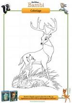 Coloriage Coloriage Bambi et le Prince de la Forêt