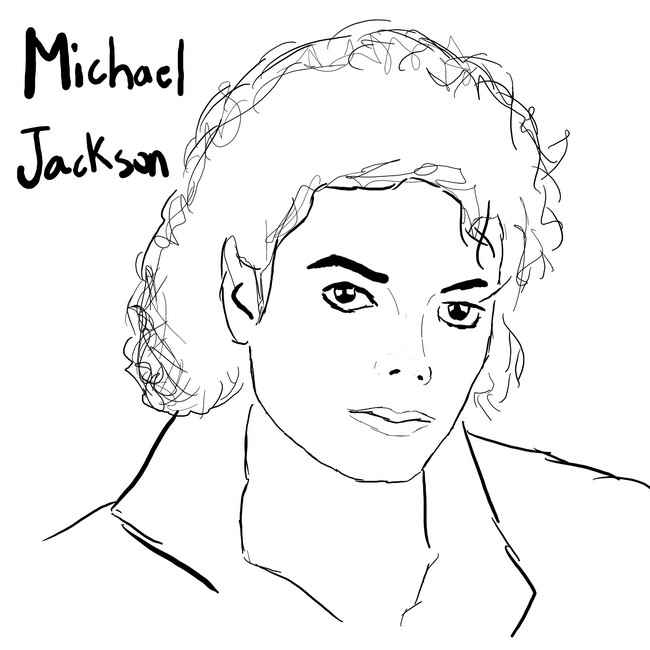 Coloriage michael jackson 8 - Coloriage michael jackson ...