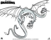 Coloriage Dragons