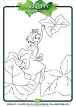Coloriage Arrietty Le petit monde des chapardeurs