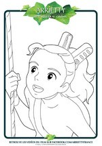 Coloriage Arrietty