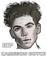 Coloriage RIP Repose en paix Cameron Boyce