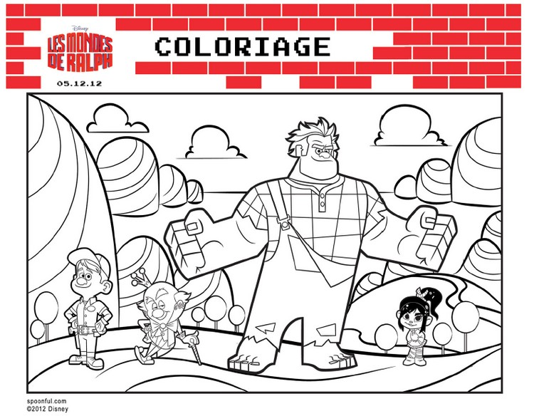 Coloriage Disney Ralph.Index Of Coloriages 891 G