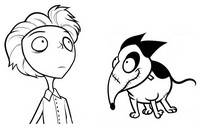 Coloriage Coloriage Frankenweenie