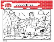Coloriage Coloriage Les Mondes de Ralph