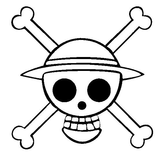 Coloriage One Piece Tete De Mort 9