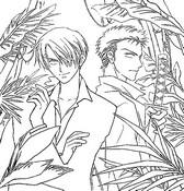 Coloriage Zorro et Sanjy