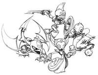 Coloriage Skylanders - Mort-vivant