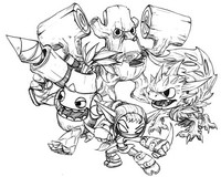 Coloriages skylanders coloriage - Coloriage skylanders giants ...