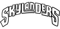 Coloriage Logo Skylanders