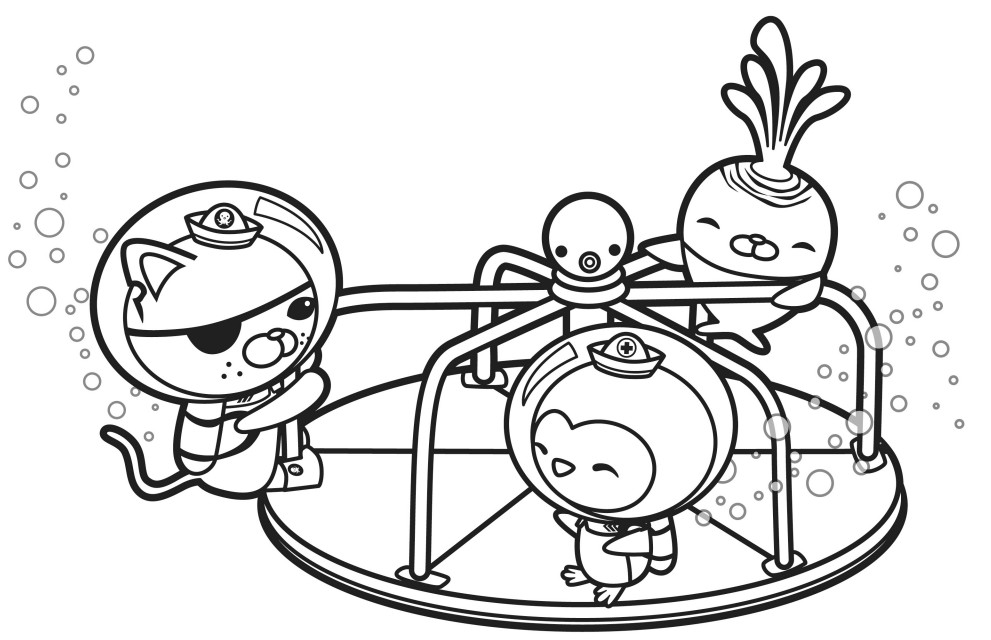 octonauts coloring pages dashi granules - photo#5