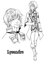 Coloriage Lysandre