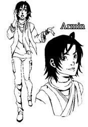 Coloriage Armin