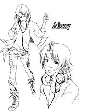 Coloriage Alexy