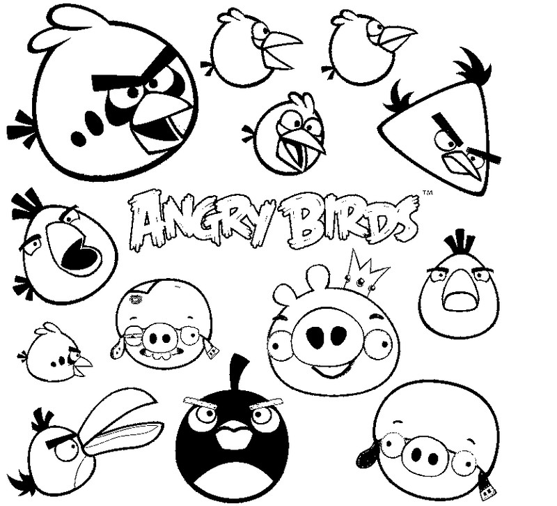 Dessin Angry Birds Go Coloring Pages