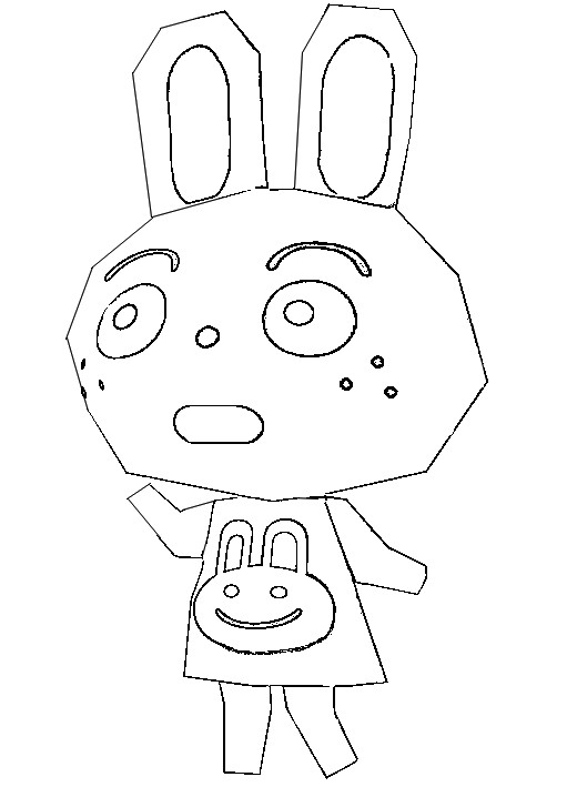 Coloriage Animal Crossing 7