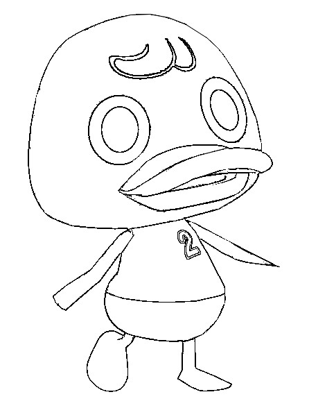 Coloriage Animal Crossing New Leaf.Index Of Coloriages 927 G