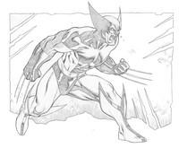 Coloriage Wolverine - Le combat de l'immortel